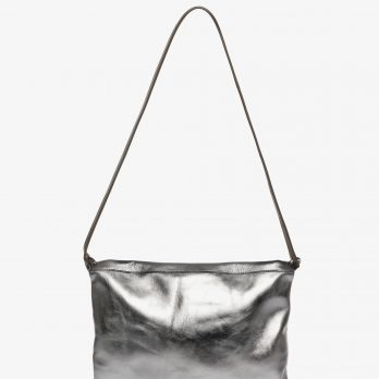 Ina Kent Tasche metallic silver
